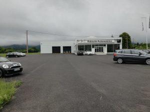 Centro de trabajo (concesionario BMW Rabaute Automobiles) de Héctor Carbó y Alexandru Siicu